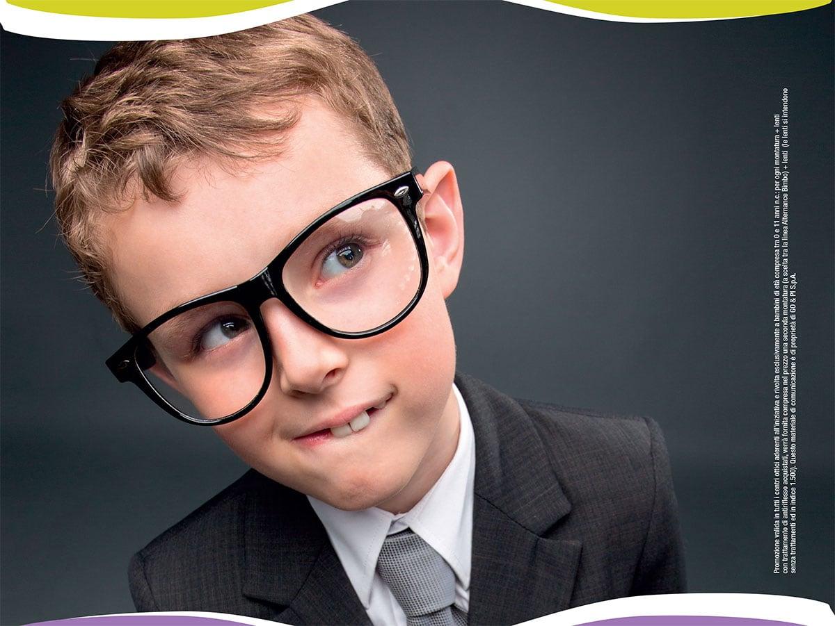 Offerta occhiali per bambini, Ottica Gafforini