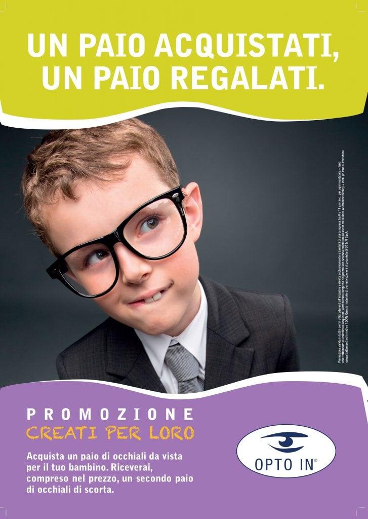 occhiali per bambino in promozione