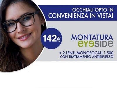 Promo occhiali primo prezzo